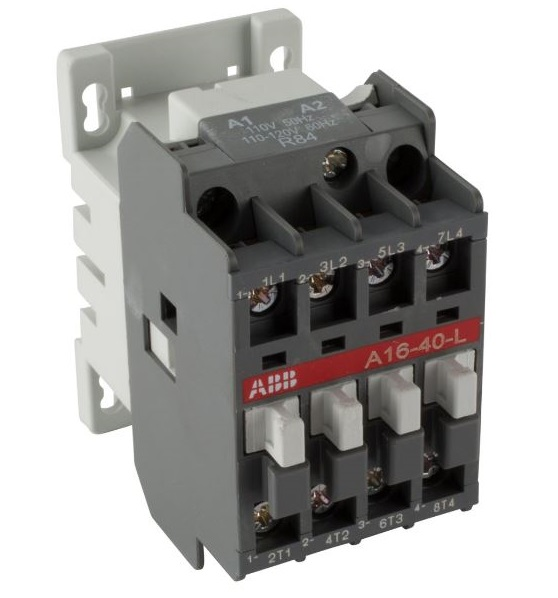 4 Pole LIGHTING CONTACTOR Normally Closed and Normally Open Abb Contactor Wiring Diagram on